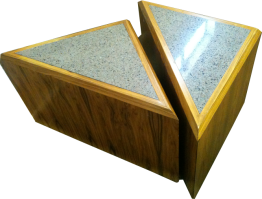 Marble Triangular Table We Buy And Sell Used Office